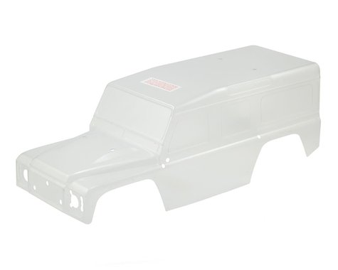 Traxxas TRX-4 Land Rover Defender Body (Clear)
