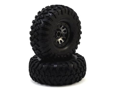 "Traxxas TRX-4 Pre-Mounted Canyon Trail 2.2"" Crawler Tires w/Method 105 Wheels"