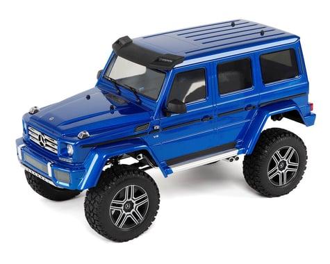 Traxxas TRX-4 1/10 Trail Crawler Truck w/Mercedes-Benz G500 4X4² Body (Blue)