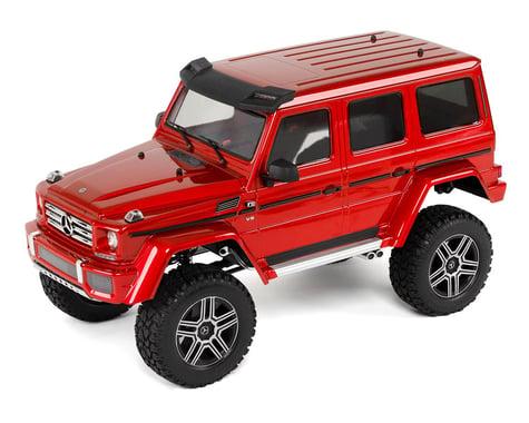 Traxxas TRX-4 1/10 Trail Crawler Truck w/Mercedes-Benz G500 4X4² Body (Red)