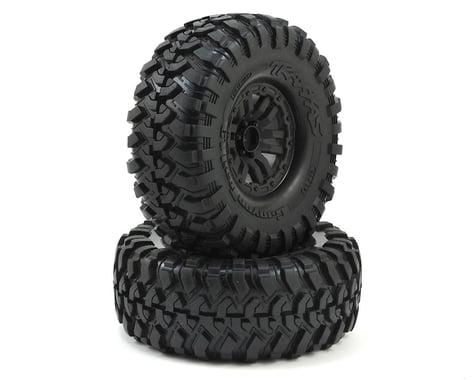 "Traxxas TRX-4 Pre-Mounted Canyon Trail 1.9"" Crawler Tires (Black) (2) (S1)"