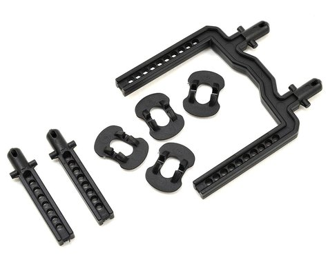 Traxxas 4-Tec 2.0 Front & Rear Body Mount Set