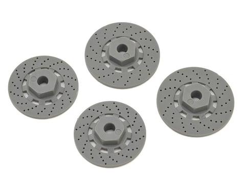 Traxxas 12mm Hex 4-Tec 2.0 Wheel Hubs w/Disk Brake Rotors (4)