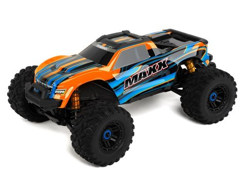 Traxxas Maxx 1/10 Brushless RTR 4WD Monster Truck (Orange)