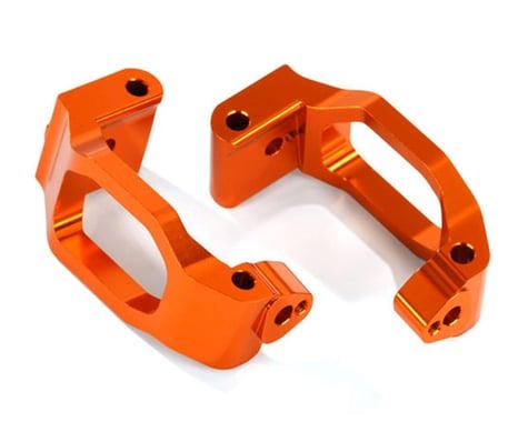 Traxxas Maxx Aluminum Caster Blocks (Orange)