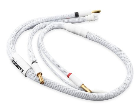 Trinity 2S Pro Charge Cables w/5mm Bullet Connector (White)