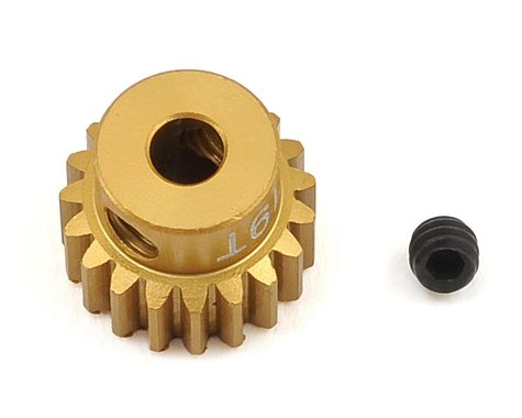 Trinity 48P Light Weight Aluminum Pinion Gear (3.17mm Bore) (19T)
