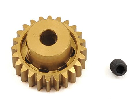 Trinity 48P Light Weight Aluminum Pinion Gear (3.17mm Bore) (24T)
