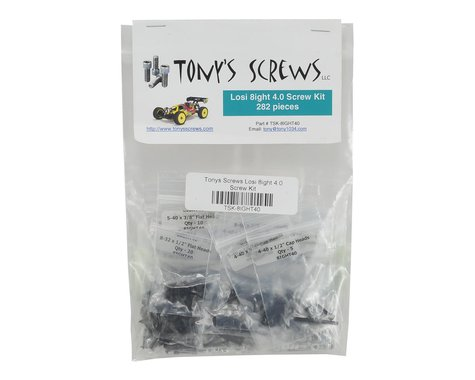 Tonys Screws Losi 8ight 4.0 Screw Kit