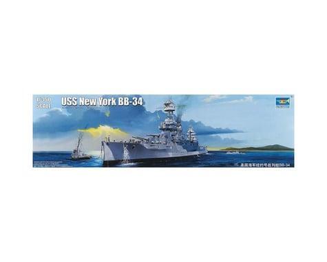 Trumpeter Scale Models 5339 1/350 USS New York BB-34 Battleship