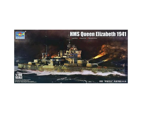 Trumpeter Scale Models 5794 1/700 HMS Queen Elizabeth British Battleship 1941