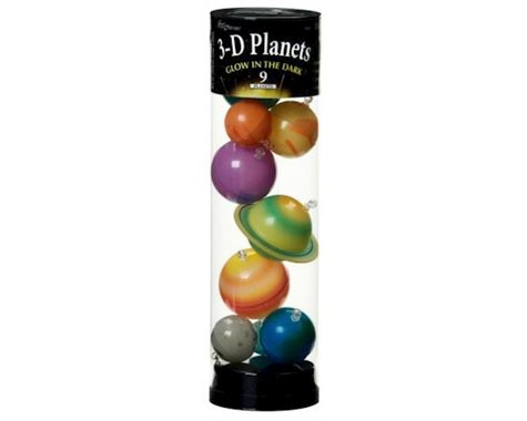 University Games Corp University Games 19464 Glow in the Dark 3D Planets in a Tube