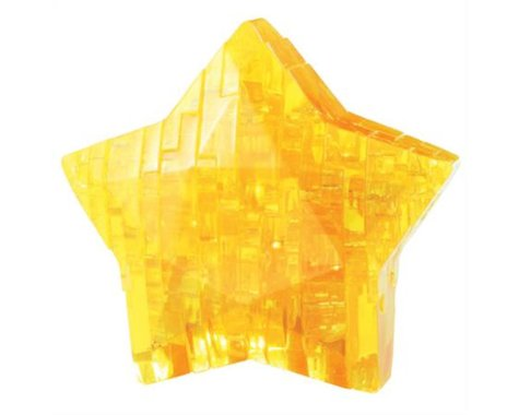 University Games Corp Bepuzzled 30921 3D Crystal Puzzle - Star