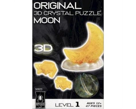 University Games Corp Bepuzzled 30923 3D Crystal Puzzle - Moon