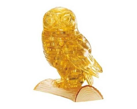 University Games Corp Original 3D Crystal Puzzle - Owl