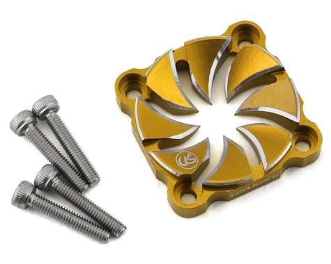 Usukani Aluminum Dissilent Fan Cover (Gold) (25mm)