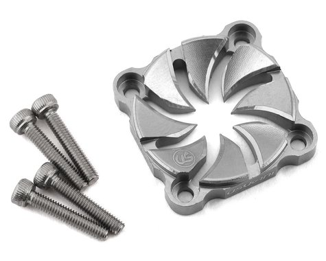 Usukani Aluminum Dissilent Fan Cover (Silver) (25mm)