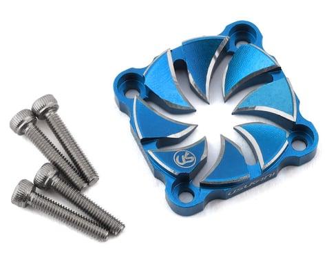 Usukani Aluminum Dissilent Fan Cover (Yokomo Blue) (25mm)