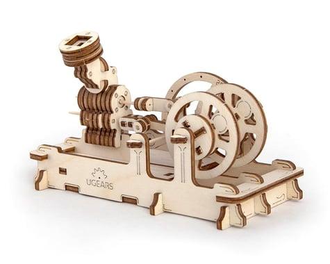 UGears Pneumatic Engine Mechanical Wooden 3D Model