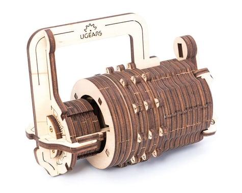 UGears Combination Lock Wooden 3D Model