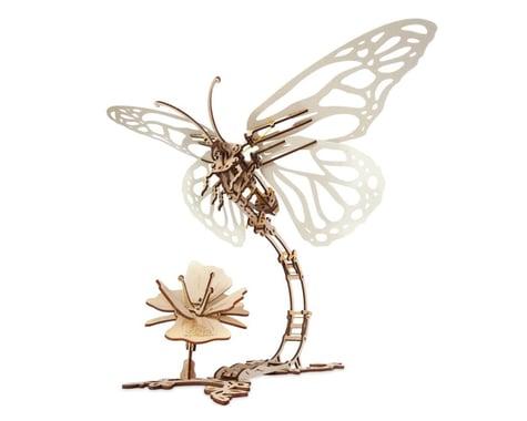 UGears Butterfly & Flower Mechanical Wooden 3D Model