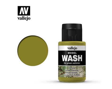 Vallejo Paints 35ml Bottle Dark Green Model Wash