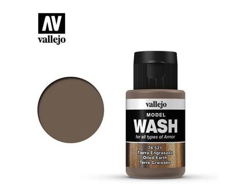 Vallejo Paints 35ml Bottle Oiled Earth Model Wash