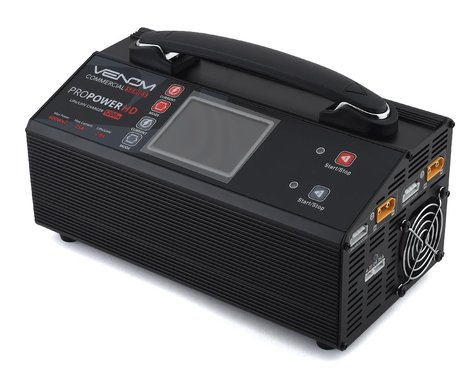 Venom Power Commercial Series Pro Power HD Battery Charger (6S/25A/600W x 2)