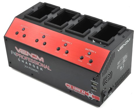 Venom Power P4 DJI Phantom 4 4-Channel Drone Battery Charger (100W x4)
