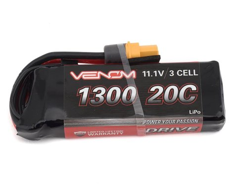 Venom Power 3S LiPo 20C Battery Pack w/UNI 2.0 Connector (11.1V/1300mAh)