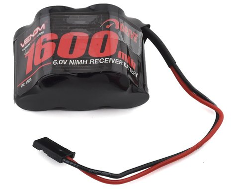 Venom Power 5 Cell 6V 1600mAh NiMH HUMP Receiver Battery