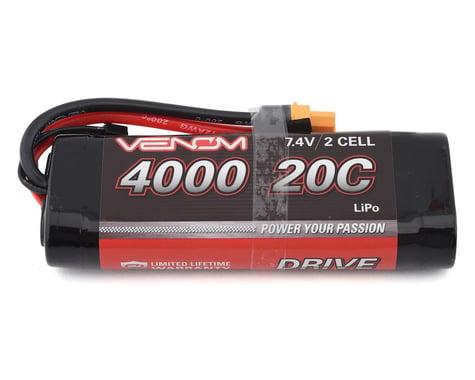 Venom Power 2S 20C Hard Case LiPo Battery w/UNI 2.0 Connector (7.4V/4000mAh)