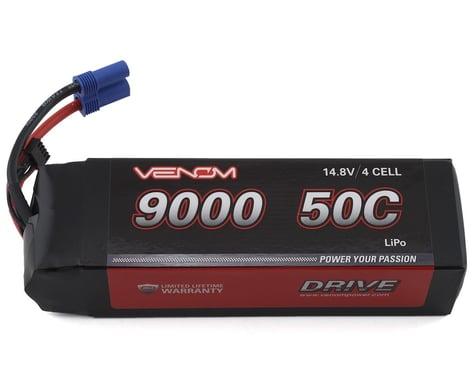 Venom Power Drive 4S 50C LiPo Battery w/EC5 Connector (14.8V/9000mAh)