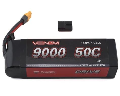 Venom Power Drive 4S 50C Lipo Battery w/Traxxas Connector (14.8V/9000mAh)