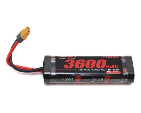 Venom Power 6 Cell 7.2V 3600mAh NiMH Battery w/UNI 2.0 Connector