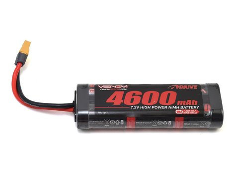 Venom Power 6 Cell 7.2V 4600mAh NiMH Hump Battery w/UNI 2.0 Connector