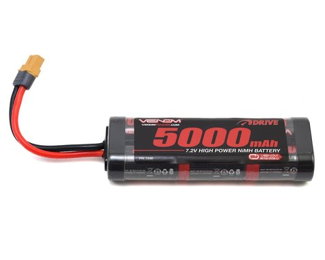 Venom Power 6 Cell 7.2v 5000mAh NiMH Battery w/UNI 2.0
