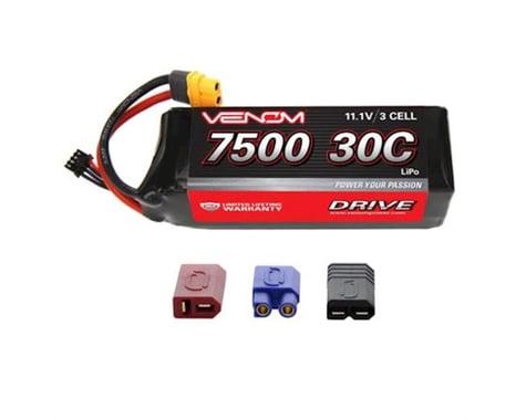 Venom Power 3S Soft Pack 30C LiPo Battery w/UNI 2.0 (11.1V/7500mAh)