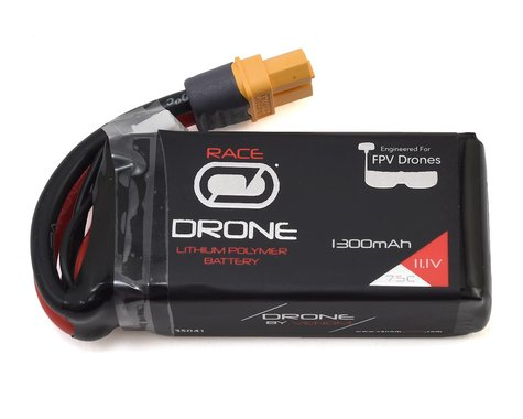 Venom Power Drone FPV 3S 75C LiPo Battery w/UNI 2.0 Connector (11.1V/1300mAh)