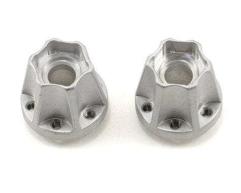 Vanquish Products SLW Hex Hub Set (Silver) (2) (725)