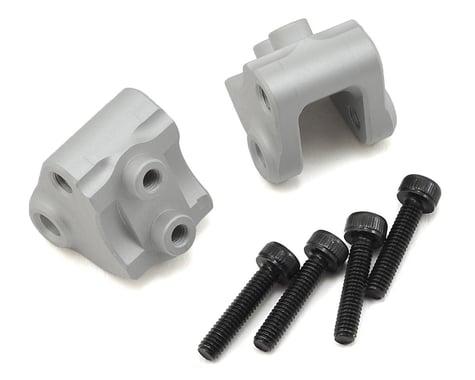Vanquish Products SCX10 II Lower Link/Shock Mounts (2) (Silver)