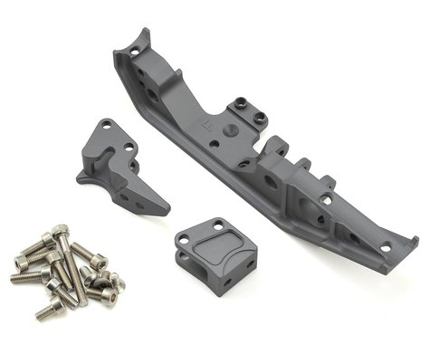 Vanquish Products Wraith Currie Rockjock 70 Front Truss/Link Mounts (Grey)