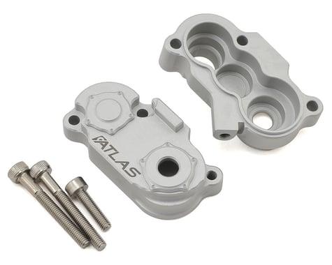Vanquish Products Atlas SCX10 II Aluminum Transfer Case (Silver)