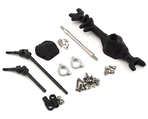 Vanquish Products VS4-10 Currie D44 Offset Front Axle (Black)