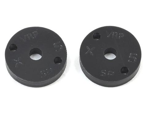 "VRP 12mm Associated V2 1/10 Machined ""SP"" Shock Piston (2) (1.5mm x 2 Hole)"