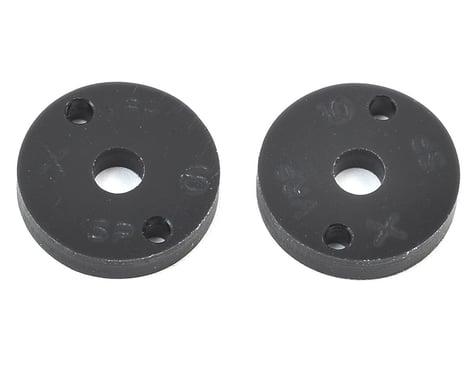 "VRP 12mm AE/TLR/Yokomo 1/10 Machined ""SP"" Shock Piston (2) (1.6mm x 2 Hole)"