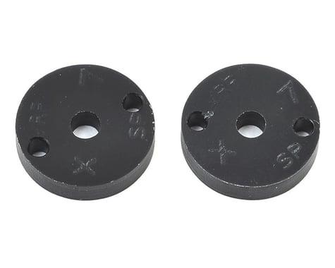 "VRP 12mm Associated V2 1/10 Machined ""SP"" Shock Piston (2) (1.7mm x 2 Hole)"