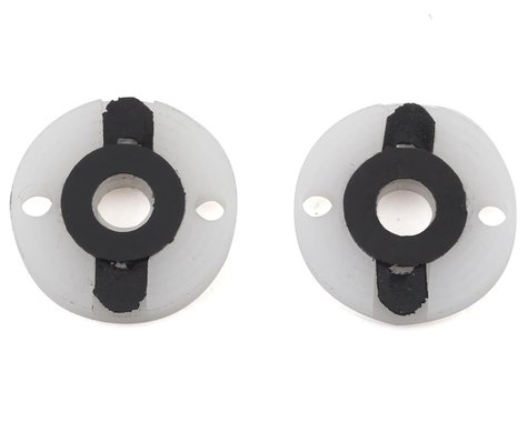 "VRP XRAY 1/10 ""X V3"" EU Shock Piston (2) (1.7mm x 2 Hole) (White)"