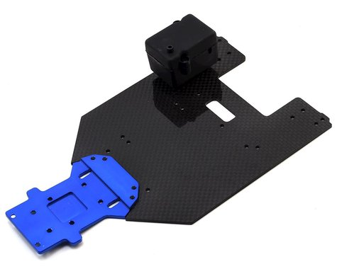 Vetta Racing Karoo Chassis Plate w/Receiver Case (Carbon & Aluminum)