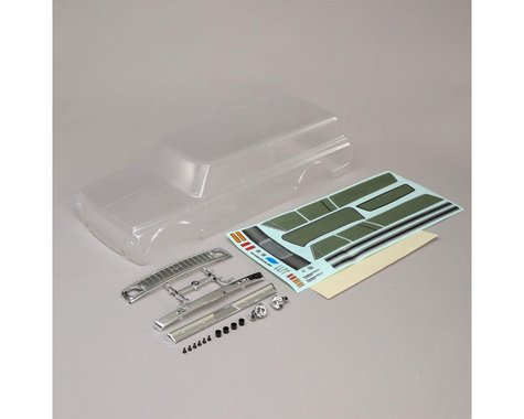 Vaterra 1972 Chevy Suburban Body Set (Clear) (314mm)